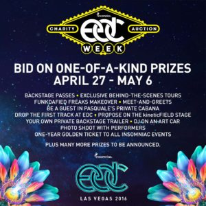 EDC Week Charity Auction Phase 1 Annoucement